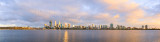 Perth and the Swan River at Sunrise, 9th October 2014