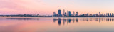 Perth and the Swan River at Sunrise, 12th October 2014