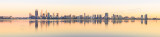Perth and the Swan River at Sunrise, 15th October 2014