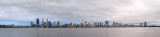 Perth and the Swan River at Sunrise, 19th October 2014