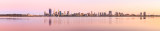 Perth and the Swan River at Sunrise, 27th October 2014