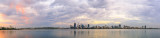 Perth and the Swan River at Sunrise, 12th February 2015