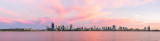 Perth and the Swan River at Sunrise, 16th February 2015