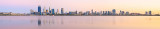 Perth and the Swan River at Sunrise, 20th February 2015