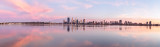 Perth and the Swan River at Sunrise, 30th March 2015