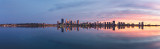 Perth and the Swan River at Sunrise, 4th April 2015