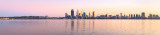 Perth and the Swan River at Sunrise, 7th May 2015