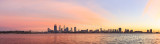 Perth and the Swan River at Sunrise, 15th May 2015
