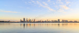 Perth and the Swan River at Sunrise, 30th May 2015