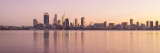 Perth and the Swan River at Sunrise, 5th June 2015