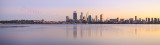 Perth and the Swan River at Sunrise, 12th June 2015