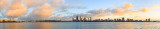 Perth and the Swan River at Sunrise, 20th June 2015