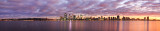Perth and the Swan River at Sunrise, 26th June 2015