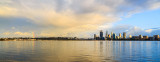 Perth and the Swan River at Sunrise, 20th August 2015