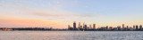 Perth and the Swan River at Sunrise, 29th August 2015