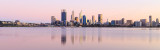 Perth and the Swan River at Sunrise, 16th September 2015