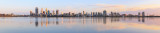 Perth and the Swan River at Sunrise, 8th October 2015