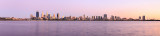 Perth and the Swan River at Sunrise, 3rd November 2015
