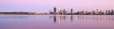 Perth and the Swan River at Sunrise, 15th December 2015