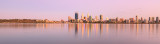Perth and the Swan River at Sunrise, 9th February 2016
