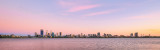 Perth and the Swan River at Sunrise, 15th February 2016