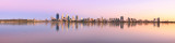 Perth and the Swan River at Sunrise, 17th February 2016