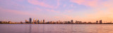 Perth and the Swan River at Sunrise, 21st February 2016