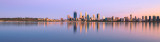 Perth and the Swan River at Sunrise, 27th February 2016