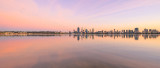 Perth and the Swan River at Sunrise, 31st March 2016