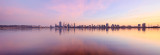 Perth and the Swan River at Sunrise, 4th April 2016