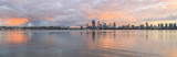 Perth and the Swan River at Sunrise, 14th April 2016