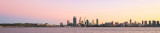 Perth and the Swan River at Sunrise, 22nd April 2016