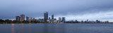 Perth and the Swan River at Sunrise, 7th June 2016