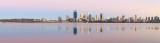Perth and the Swan River at Sunrise, 5th November 2016