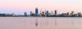 Perth and the Swan River at Sunrise, 7th November 2016