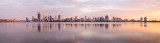 Perth and the Swan River at Sunrise, 9th November 2016