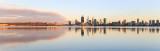 Perth and the Swan River at Sunrise, 12th November 2016