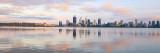 Perth and the Swan River at Sunrise, 20th November 2016