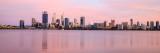 Perth and the Swan River at Sunrise, 21st November 2016