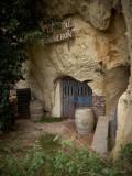 Wine caves.