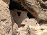 The Gila Cliff Dwellings National Monument