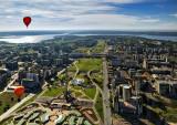 Brasilia Vista de balão