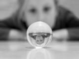 glass ball distortion