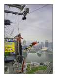Bungy from Macau Tower