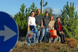 2006: Pflege des Kreisverkehrs in Ofenbach