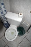 No toilet seat, no problem.  Got wifi!