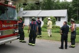 Extinguished Fire Paxton MA Red Oak Street