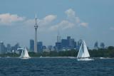 2.25 miles south of Toronto Island (Nikon D40X)