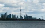 Toronto, 7.5 miles away across Lake Ontario (Nikon D40X)