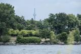 Toronto, 7.5 miles away across Lake Ontario (Fuji X-A1)